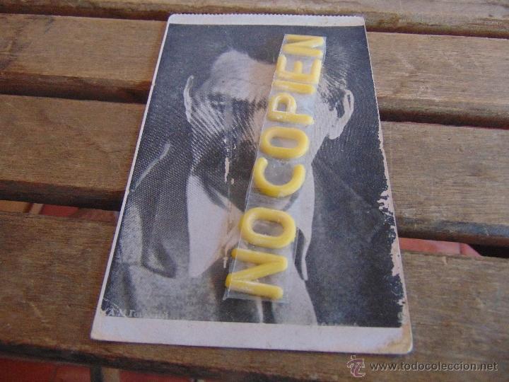 TARJETA POSTAL EDITADA POR ASOCIACION DE AMIGOS UNION SOVIETICA MAXIMO GORKI MAL ESTADO (Postales - Postales Temáticas - Guerra Civil Española)