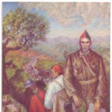 Postcards - Los Guerrilleros Confederales - Durruti. Oficinas de Propaganda CNT - FAI. Circulada (1938) - 55418022
