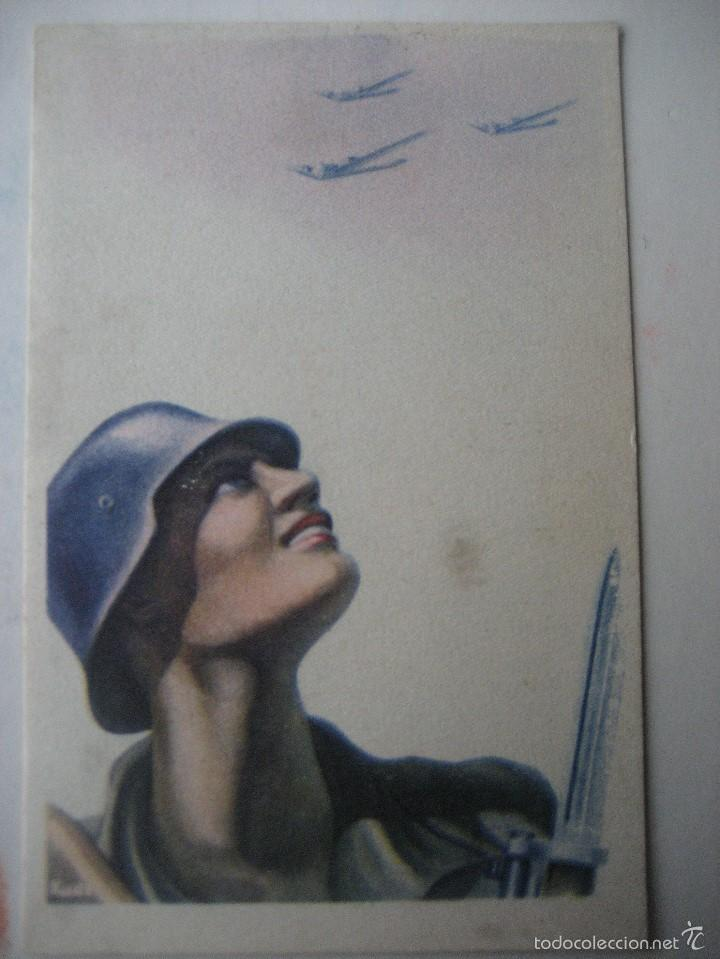 CARA AL SOL. Nº 7. ARTES GRAFICAS LABORDE Y LABATEN. TOLOSA. SIN CIRCULAR (Postales - Postales Temáticas - Guerra Civil Española)