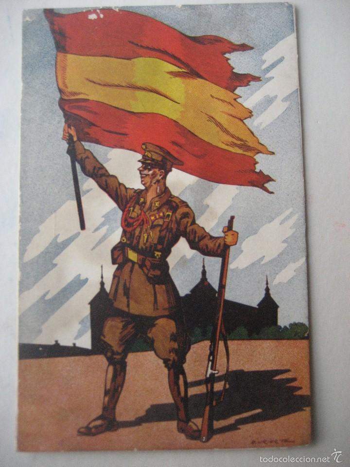 LOS SALVADORES DE ESPAÑA. SERIE A. Nª 4. ED. URIARTE. SIN CIRCULAR (Postales - Postales Temáticas - Guerra Civil Española)