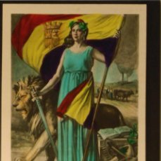 Postales: POSTAL REPUBLICANA - LA REPUBLICA ESPAÑOLA 1931. Lote 55888223