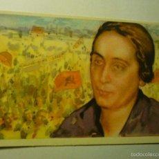 Postales: POSTAL DOLORES IBARRURI-PÀSIONARIA -NUM.4 EDIC. CRUZ ROJA - BB. Lote 57017342