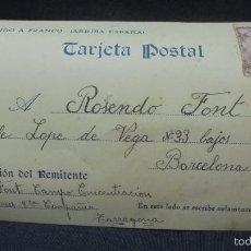 Cartes Postales: POSTAL CAMPO DE CONCENTRACION DE REUS - 3ª COMPAÑIA - 1940. Lote 57060829