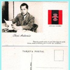 Postales: TARJETA POSTAL: JOSE ANTONIO PRIMO DE RIVERA. ORIGINAL DE 1930. NUEVA.. Lote 57865486