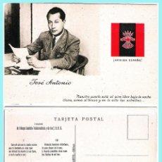 Postcards - T. POSTAL: JOSE ANTONIO PRIMO DE RIVERA. ORIGINAL DE 1930. NUEVA. PROPAGANDA.Rev. HIMNO DE FALANGE.. - 57865610
