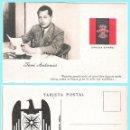Postales: T. POSTAL: JOSE ANTONIO PRIMO DE RIVERA. ORIGINAL DE 1930. NUEVA.REV. PROPAGANDA AGUILA DE FALANGE... Lote 89469163