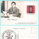 Postales: T. POSTAL: JOSE ANTONIO PRIMO DE RIVERA. ORIGINAL DE 1930. NUEVA. REV. PROPAGANDA DE FALANGE... Lote 57865849