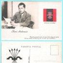 Postales: T. POSTAL: JOSE ANTONIO PRIMO DE RIVERA. ORIGINAL DE 1930. NUEVA. REV. PROPAGANDA DE FALANGE... Lote 89469184