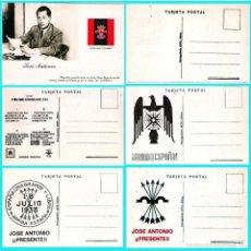 Postales: 5 T P.DE JOSE ANTONIO PRIMO DE RIVERA. ORIGINAL DE 1930. NUEVAS. REV. PROPAGANDA VARIADA DE FALANGE.. Lote 57867556