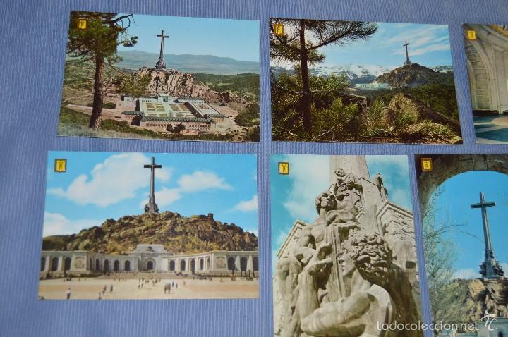 Postales: Lote 7 postales Santa Cruz Valle de los Caídos - sin circular - Patrimonio Nacional - muy buen estad - Foto 2 - 58517768