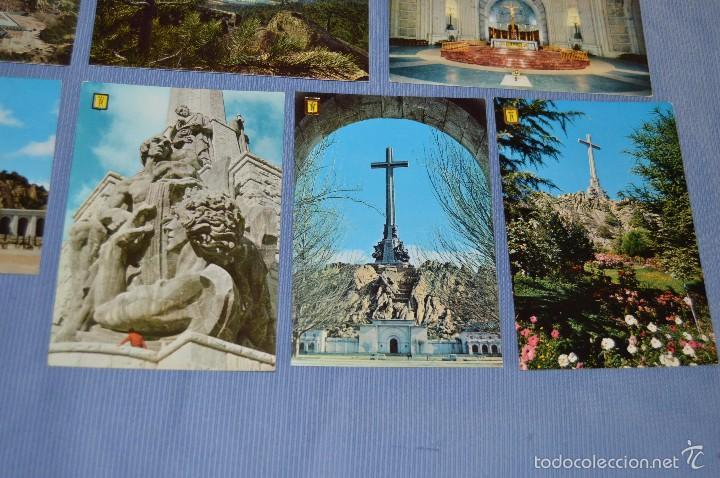 Postales: Lote 7 postales Santa Cruz Valle de los Caídos - sin circular - Patrimonio Nacional - muy buen estad - Foto 3 - 58517768