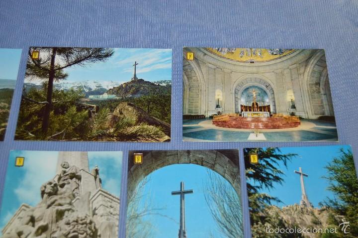 Postales: Lote 7 postales Santa Cruz Valle de los Caídos - sin circular - Patrimonio Nacional - muy buen estad - Foto 4 - 58517768
