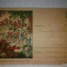 Postales: CATALUÑA SOMETENTS DEL BRUC GUERRA CIVIL. COMISSARIAT DE PROPAGANDA GENERALITAT.ESCUDO REPUBLICA . Lote 58642346
