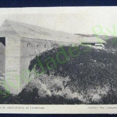Postales: REDUCTO Y NIDO DE AMETRALLADORA EN LARRABEZÚA. FOTO OJANGUREN. SERIE I. Nº 4 . Lote 59821140