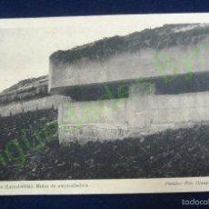 Postales: ASTROCA LARRABEZÚA NIDOS DE AMETRALLADORAS. FOTO OJANGUREN. SERIE I. Nº 6. Lote 59821800