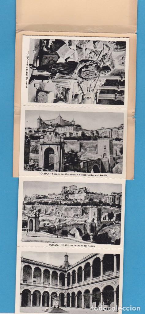 Postales: ALCÁZAR DE TOLEDO. PRIMERA SERIE DE 11 POSTALES. EDICIÓN EN 1960 - Foto 3 - 62948772