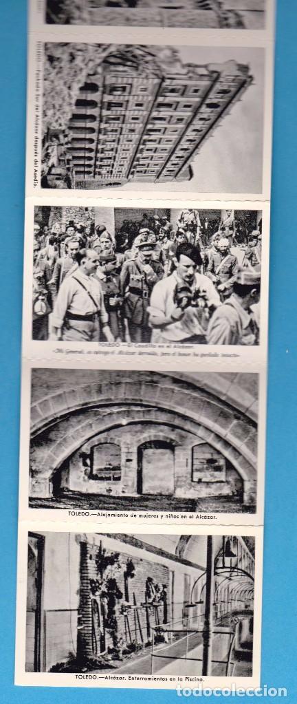 Postales: ALCÁZAR DE TOLEDO. PRIMERA SERIE DE 11 POSTALES. EDICIÓN EN 1960 - Foto 5 - 62948772