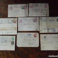 Postales: LOTE DE 8 ENTEROS POSTALES DE LA REPÚBLICA Y LOS AÑOS 30. Lote 64180239