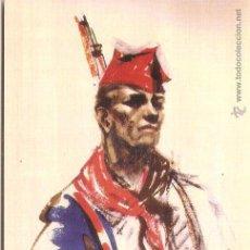 Postales: TARJETA GUERRA CIVIL ESPAÑOLA (1936-1939): MILICIANO ANONIMO - REPRODUCCIÓN. Lote 67133681