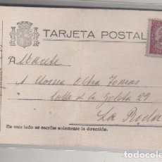 Postales: TARJETA POSTAL SELLO REPÚBLICA ESPAÑOLA. REMITENTE EN LA CÁRCEL . Lote 67507093