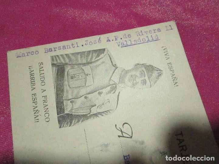 Postales: POSTAL CENSURA MILITAR GUERRA CIVIL ESPAÑOLA 1939 - Foto 2 - 68402785