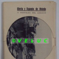 Postcards - GUERRA CIVIL: COLECCION 11 POSTALES DEL ASEDIO A OVIEDO. FOTOS ARMAN - 36998998