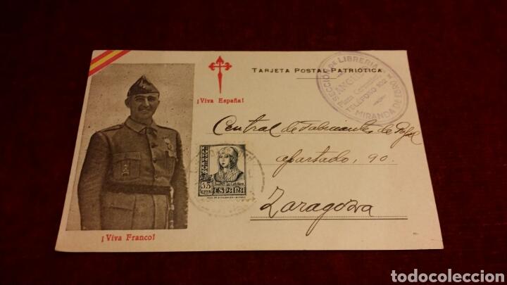 TARJETA POSTAL PATRIÓTICA NACIONAL GUERRA CIVIL (Postales - Postales Temáticas - Guerra Civil Española)