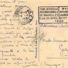 Postales: AÑO 1928 POSTAL DIRIGUIDA A DON CARLOS RAHOLA LLORENS FUSILADO POR EL REGIMEN FRANQUISTA. Lote 77214145