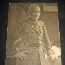 Postales: M. ALONSO. POSTAL GENERALES DEL FRANQUISMO. GUERRA CIVIL. FOTOGRAFO JALON ANGEL ZARAGOZA. Lote 77575953