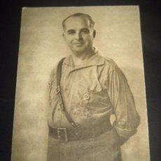 Postales: VARELA. POSTAL GENERALES DEL FRANQUISMO. GUERRA CIVIL. FOTOGRAFO JALON ANGEL ZARAGOZA. Lote 77576505