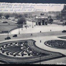 Postales: TARJETA POSTAL ENVIADA DESDE PARIS A BURGOS CON TAMPÓN: CENSURA MILITAR BURGOS - GUERRA CIVIL. Lote 80896939
