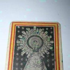 Postales: POSTAL VIRGEN DEL PILAR ENVIADA DESDE EL FRENTE POR COMBATIENTE NACIONAL, ESTAFETA Nº 50 . 1938.. Lote 83301432
