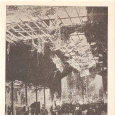 Postcards - FRENTE POPULAR MARZO DE 1936 INCENDIO DE UNA ESCUELA EN VALLECAS. - 87560664