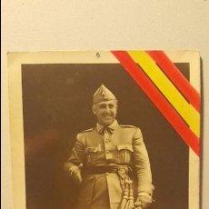 Postales: TARJETA POSTAL GENERAL FRANCO. Lote 92234670