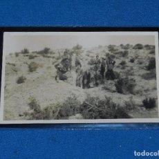 Postcards - POSTAL FOTOGRAFICA GUERRA CIVIL MILICIANOS FRENTE DE ARAGON (MONTE OSCURO) JUNY 1937 - 93691565