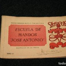Postcards - Escuela de mandos de Jose Antonio, sección femenina, serie III, 8 postales - 96702635