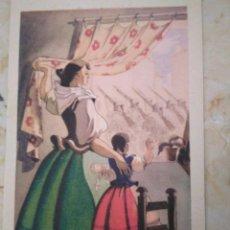 Postales: VOLVERÁN BANDERAS VICTORIOSAS. N° 3. ARTES GRÁFICAS LA BORDE Y LA BAYEN. TOLOSA. SIN CIRCULAR.. Lote 98945315