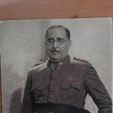 Postales: POSTAL GUERRA CIVIL BANDO NACIONAL GENERAL ARANDA POR ANGEL JALÓN EDIC ARTE BILBAO FRANCO. Lote 101270951