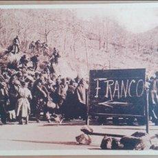 Postales: POSTAL GUERRA CIVIL BANDO NACIONAL Nº 26 LOS QUE OPTAN A FAVOR DE FRANCO ED CHAUVIN PERPIGNAN. Lote 101286703