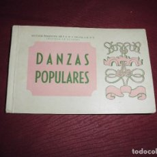 Postales: MAGNIFICAS 12 POSTALES ANTIGUAS SECCION FEMENINA DE F.E.T. Y DE LAS J.O.N.S.DANZAS POPULARES. Lote 101414823