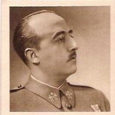 Postales: TARJETA POSTAL A S.E. EL GENERALISIMO JEFE DE LOS EJERCITOS DE TIERRA MAR Y AIRE NAVIDAD 1938 III AÑ. Lote 102791695