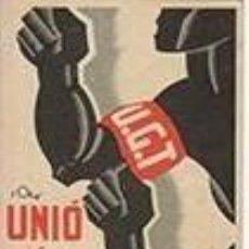 Postcards - U.G.T.- C.N.T. UNIÓ ÉS FORÇA Tarjeta POSTAL - 56523032