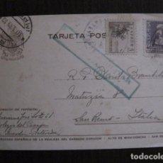 Postales: POSTAL ANTIGUA - CENSURA MILITAR - LA GUARDIA - PONTEVEDRA -VER FOTOS - (50.947). Lote 103333443