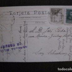 Postales: POSTAL ANTIGUA - CENSURA MILITAR - LA CORUÑA -VER FOTOS - (50.949). Lote 103333587