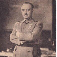 Postales: POSTAL DE EL GENERALISIMO FRANCO POR JALON ANGEL (ARTE BILBAO). Lote 104082919