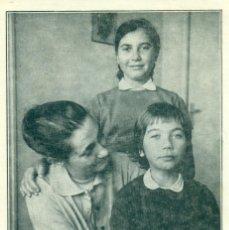 Cartes Postales: LA SEÑORA DE JULIAN GRIMAU Y SUS DOS HIJOS. FUSILADO EN 1963.POSTAL FRANCESA.. Lote 104709779