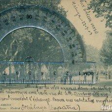Postales: MILITAR. GENERAL MOLA. POSTAL AUTÓGRAFA ENVIADA POR EL GENERAL EN 1903. DOCUMENTO HISTÓRICO ÚNICO.. Lote 105842643