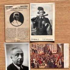 Postales: CONJUNTO POSTALES ORIGINALES REPUBLICA ESPAÑOLA. Lote 108308803