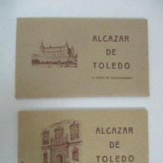Postales: ALCAZAR DE TOLEDO - 24 VISTAS EN HUECOGRABADO - FOTOS DE FRANCO Y MOSCARDÓ - CON SOBRE - PERFECTO!!!. Lote 109360047