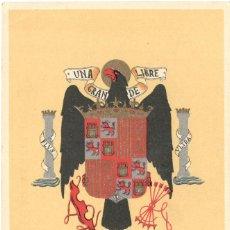 Cartes Postales: POSTAL - GUERRA CIVIL - ARRIBA ESPAÑA - J. CABANAS - DEPARTAMENTO PLÁSTICA - EDITORA NACIONAL. Lote 110127695